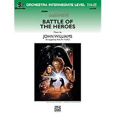 Alfred Battle of the Heroes From Star Wars - Episode III - Revenge of the Sith - Conductor Score (LFR4694)