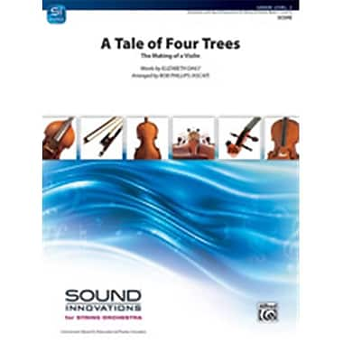 Alfred A Tale of Four Trees - Conductor Score (LFR8295)