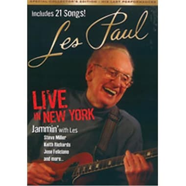 Alfred Les Paul - Live in New York (LFR8955)