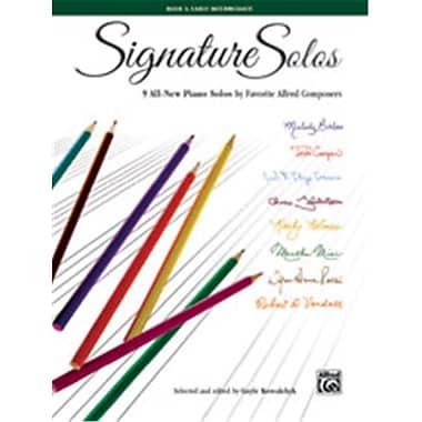 Alfred Signature Solos, Book 3 (LFR8408)