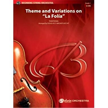 Alfred Theme & Variations on La Folia (LFR905)