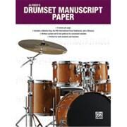 Alfred Drumset Manuscript Paper (LFR2551)