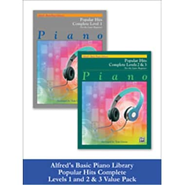 Alfred Basic Piano Library - Popular Hits, Complete Levels 1 & 2 & 3 (LFR619)
