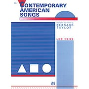 Alfred Contemporary American Songs (LFR1018)