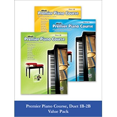 Alfred Premier Piano Course Duet 1B-2B (LFR535)
