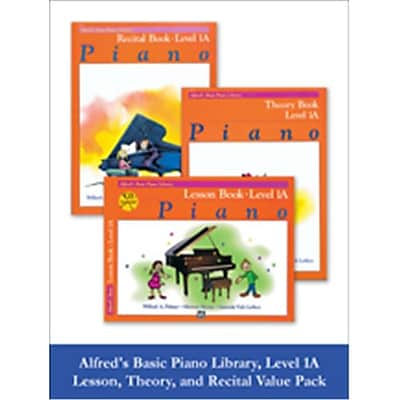 Alfred Basic Piano Library Lesson, Theory, Recital