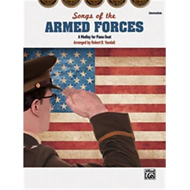 Alfred Songs of the Armed Forces (LFR1525)