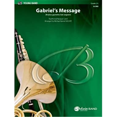 Alfred Gabriels Message Music Album (LFR51020)