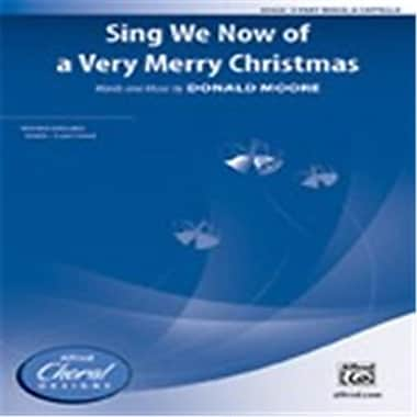Alfred Sing We Now of a Very Merry Christmas (LFR8235)