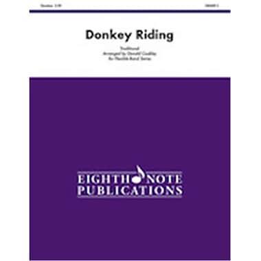 Alfred Donkey Riding, Conductor Score & Parts - Grade 2 (LFR6286)