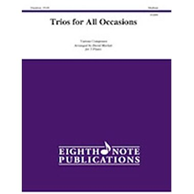 Alfred Trios for All Occasions - Score & Parts (LFR7044)