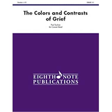 Alfred The Colors & Contrasts of Grief - Conductor Score (LFR6240)