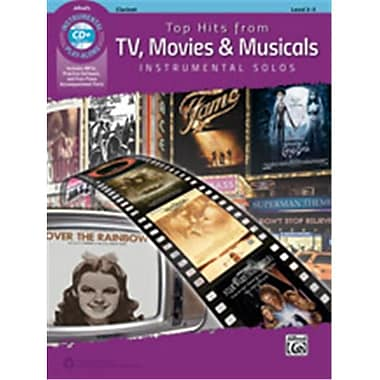 Alfred Top Hits From TV, Movies & Musicals Instrumental Solos - Book & CD (LFR1602)