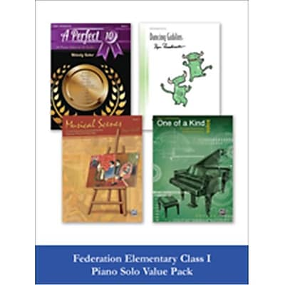 Alfred Federation Elementary Class I Piano Solo