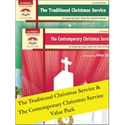 Alfred The Traditional & The Contemporary Christmas Service (LFR618)