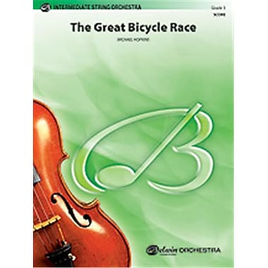 Alfred The Great Bicycle Race - Conductor Score (LFR334)