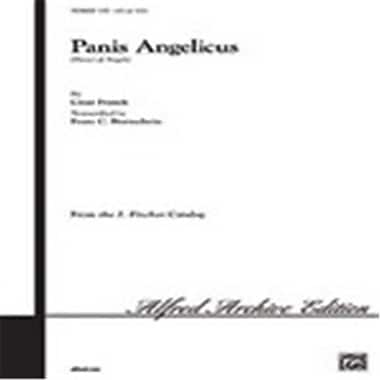Alfred Alfred Archive Edition - J. Fischer Catalog Panis Angelicus (LFR4688)