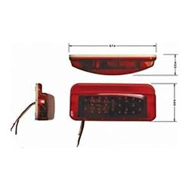 FASTNERS 00381LM1 LED Tail Light With License Light (KSAO58065)