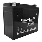 PowerStar YTX20L-BS High Performance Maintenance Free Sealed AGM Motorcycle Battery(BTJK7532)