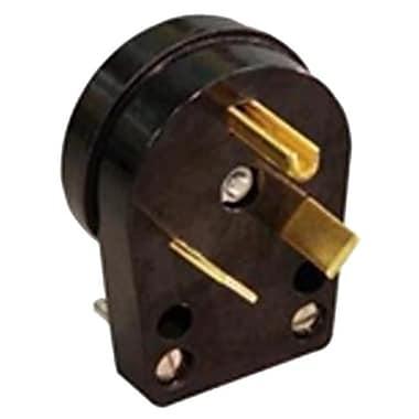 Ge Energy Industrial Solutions C32U 30A Travel Trailer Angle Plug - 120V, Black(TRVAL82365)