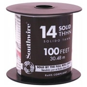 Southwire Company 100 in. 14 Gauge White THHN Solid Wire(JNSN72750)