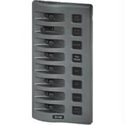 Blue Sea WeatherDeck Water Resistant Fuse Panel - 8 Position - Gray(CW20417)
