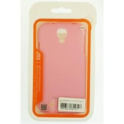 Reiko Jelly Polymer Silicone Gel Galaxy S4 Case, Pink(RKWL12330)