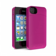 Annex Iphone4 4S Holda Case with Discrete Storage - Pink -(OCT1020)