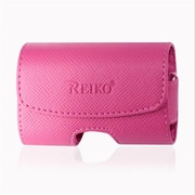 Reiko Small Size Horizontal Pouch, Hot Pink - 3.5 x 1.9 x 0.9 in.(RKWL12216)
