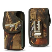 Reiko Vertical Rugged Pouch with Metal Belt Clip, Camouflage(RKWL12310)