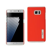 Reiko Samsung Galaxy Note 7 Solid Armor Dual Layer Protective Case, Red(RKWL12464)