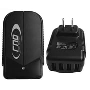 RND Accessories 4.2A Fast 4 Port USB AC Adapter Wall Charger For Ipads, Iphones, Tablets, And Smartphones - Black(RNDP133)