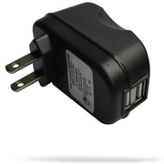 RND Accessories 2.4A Fast Dual USB AC Adapter Wall Charger For Mp3 Players And Gaming Devices(RNDP109)