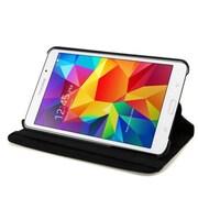 Next Success Galaxy Tab 4 8 in. 360 Degree Rotating Case & Stand, Black (NXSC246)
