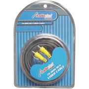 AUDIOP 6 ft. 75 Ohm Rca Video Cable(WHSL4088)