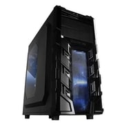 Raidmax Vortex V3 No Power Supply ATX Mid Tower Gaming Case - Black(MBCA-403WB)