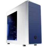 BitFenix Neos Window No Power Supply ATX Mid Tower Case, White & Blue(MBCA-NEO1WB6)