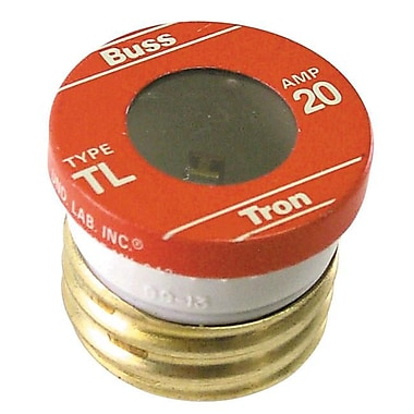 Bussmann - Cooper 4 Count 20 Amp Time Delay Plug Fuses(JNSN59574)