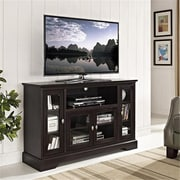 Walker Edison Furniture Espresso Wood Highboy TV Stand - 52 in.(WKED329)