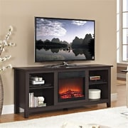 Walker Edison Furniture Espresso Wood TV Stand - 58 in.(WKED327)