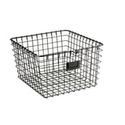 Sepctrum Diversified Medium Wire Storage Basket, Industrial Gray (47976)