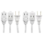 GE 3-Outlet Extension Cord, 12ft., 2 Pack (51954)