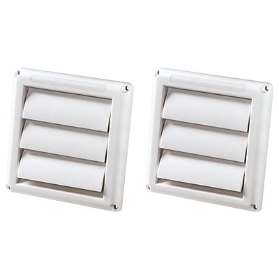 Deflecto Supurr-Vent Replacement Vent Hood, 2 Pack (HS4W/18)