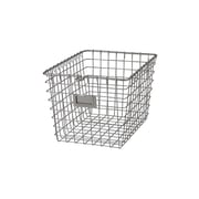 Spectrum Diversified Small Storage Basket, Satin Nickel (47877)