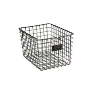 Spectrum Diversified Small Wire Storage Basket, Industrial Gray (47876)