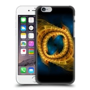 OFFICIAL SVEN FAUTH FRACTALS 2 Gold Blue Hard Back Case for Apple iPhone 6 / 6s (9_F_1D9F6)