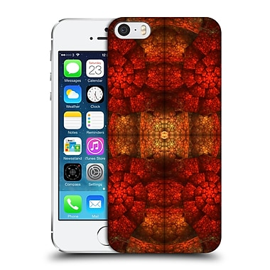 OFFICIAL SVEN FAUTH KALEIDOSCOPE Ammonite Hard Back Case for Apple iPhone 5 / 5s / SE (9_D_1DBDB)