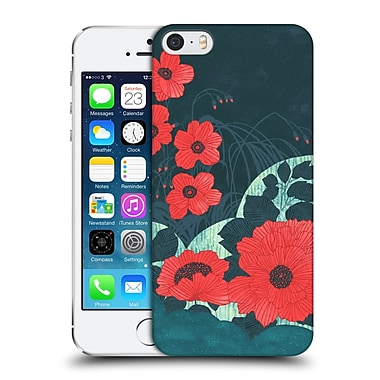 OFFICIAL TRACIE ANDREWS FLORA AND FAUNA 2 Ruby Hard Back Case for Apple iPhone 5 / 5s / SE (9_D_1D8E6)