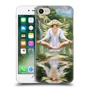 OFFICIAL SHANNON MAER ILLUSTRATIONS Meditation Hard Back Case for Apple iPhone 7 (9_1F9_1A56B)