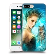 OFFICIAL SHANNON MAER FANTASY ART Lady Wolf Hard Back Case for Apple iPhone 7 Plus (9_1FA_1A55F)